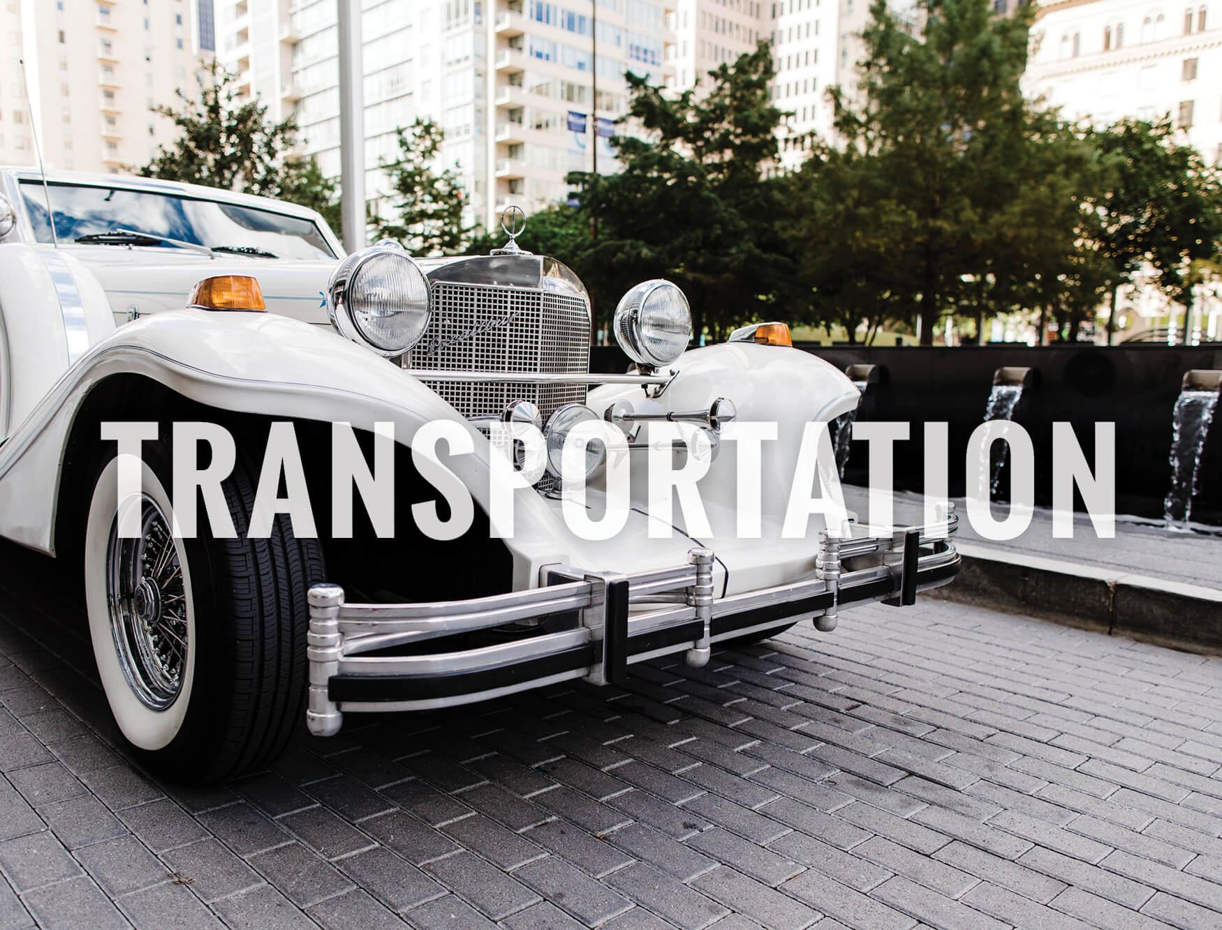 North Texas Wedding Transportation Vendors