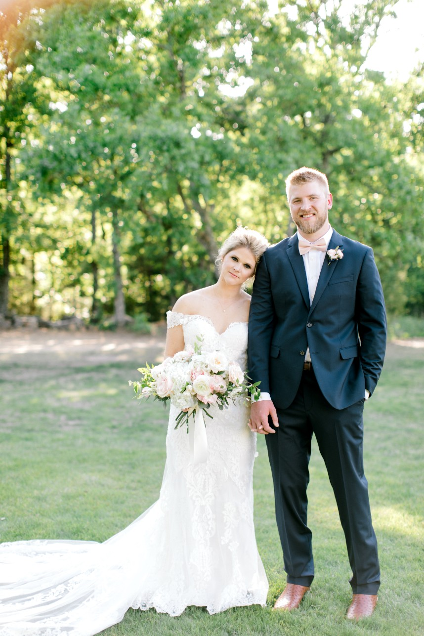 Noelle Butcher Weds Grant Goebel Spring Wedding at The White Sparrow Barn Captured by Kristin Dee Photography