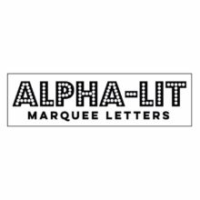 Alpha Lit Letters Rentals, This + That