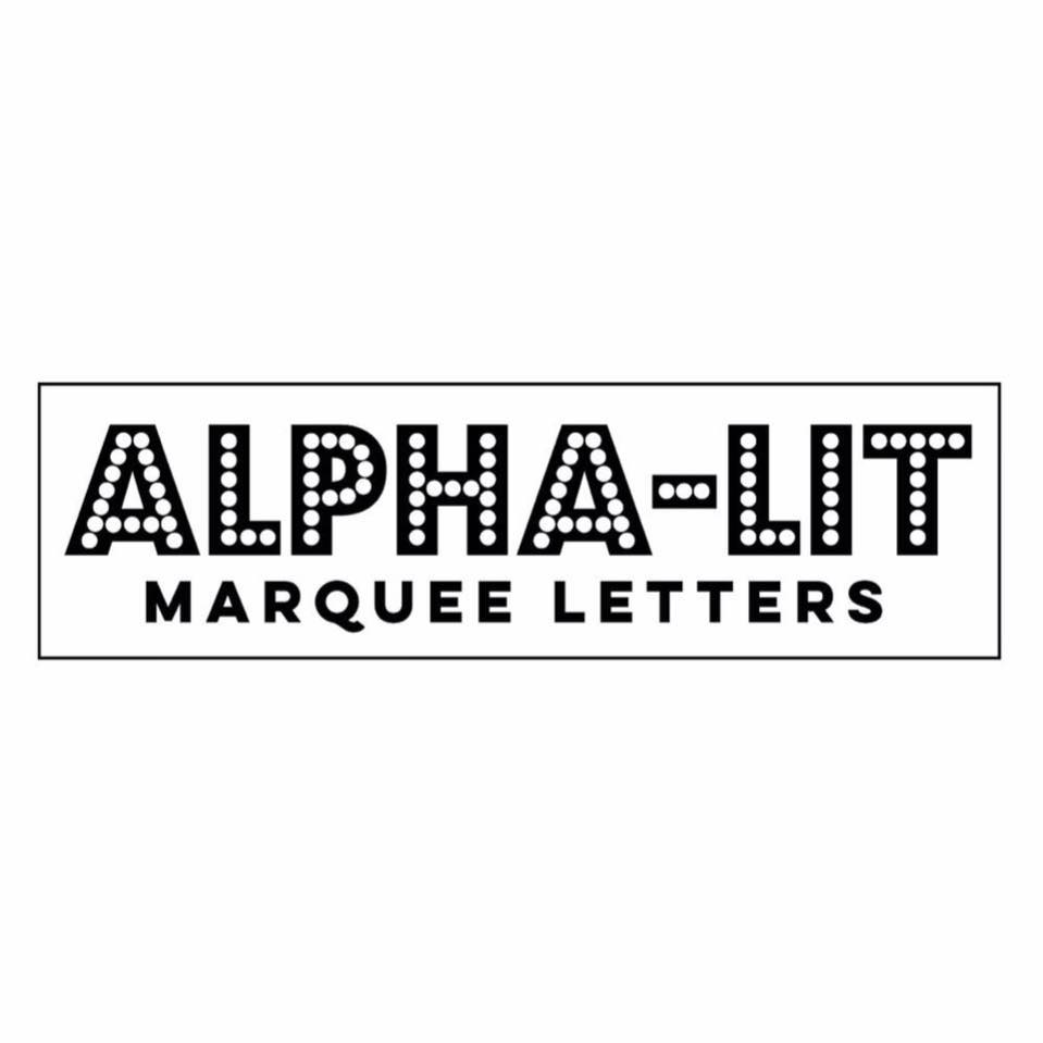 Alpha Lit Letters - North Texas