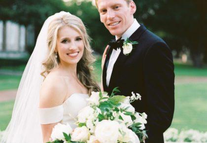 Kamryn Hawrylak Weds Mark Miller Classic Formal North Texas Wedding from Lindsey Zamora Events
