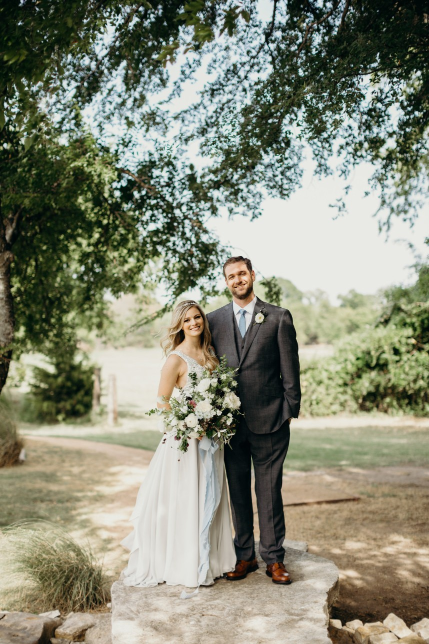 Kelly Silvestri Weds Paul Clay Mediterranean Inspired North Texas Wedding from Jen Rios Weddings