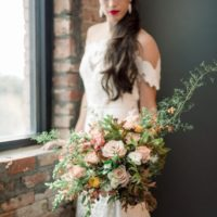 organic industrial styled shoot from alexa kay events