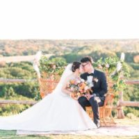 Di Cui Weds Ziming Zhang Pastel Autumn Wedding at Dove Ridge Vineyard