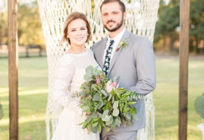 Mackenzie Howell Weds Will Thompson Southwest Boho Wedding from Meggie Taylor Photography