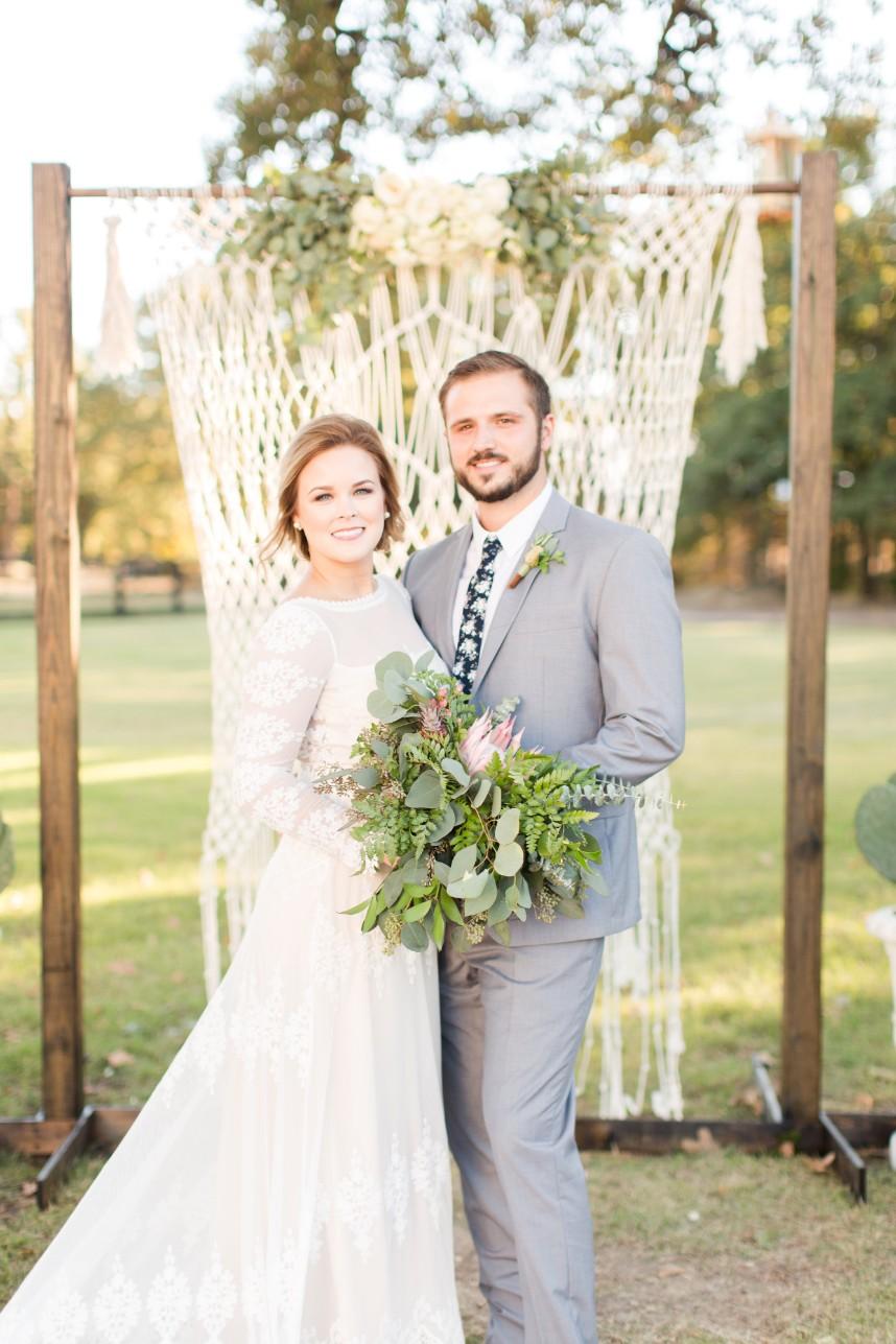 Mackenzie Howell Weds Will Thompson Southwest Boho Wedding from Meggie Taylor Photography
