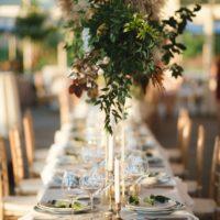 stylish golden hour affair at the dallas arboretum