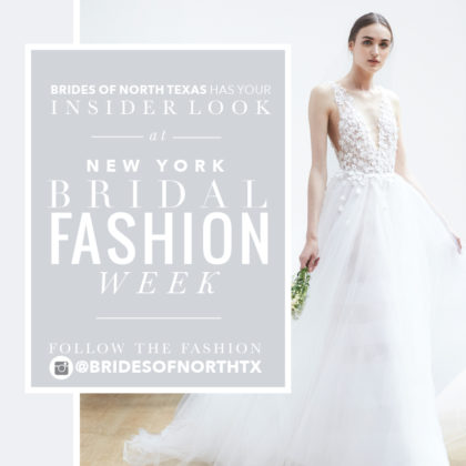 insider look at new york bridal fashion week