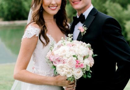 Brittney Miles Weds Josh Samford Beautiful Blush + Ivory Wedding from Events by Jade