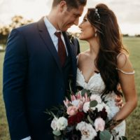 Pallyn Tabor Weds Kyle Gist Rustic Fall Wedding at The Lucky Spur Ranch Retreat