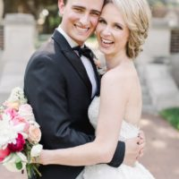 Mary O'Donnell Weds Dawson Williams Bright Industrial Texas Wedding from Maxwell + Gray