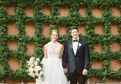 Jennifer Moderow Weds Phillip Brito Timeless White Wedding at Rosewood Mansion on Turtle Creek