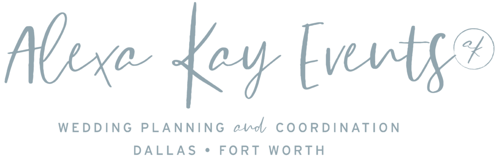 Alexa Kay Events - North Texas Wedding Wedding Planner