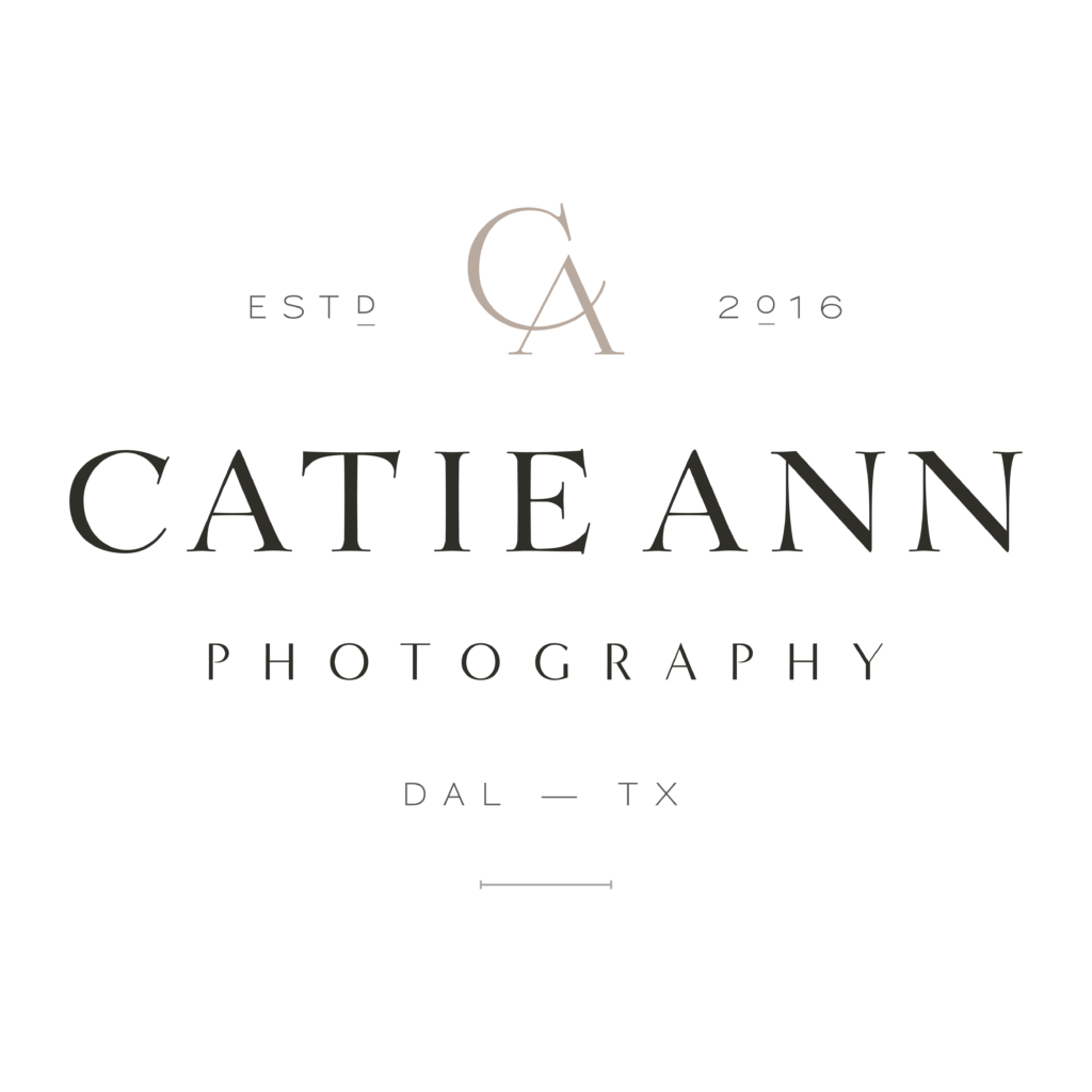 Catie Ann Photography - North Texas Wedding Photography