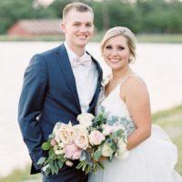 Sarah Howard Weds Chase Wayant Elegant Ranch Wedding from Rachel Elaine Photography
