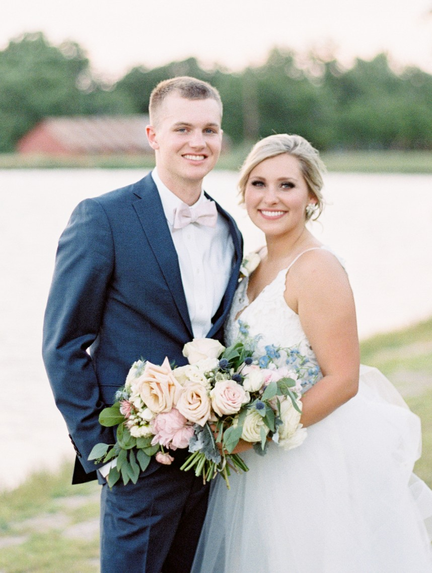 Sarah Howard Weds Chase Wayant Elegant Ranch Wedding from Rachel Elaine Photography