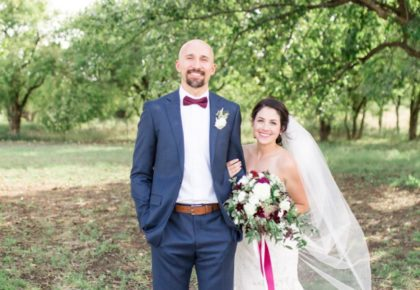 Samantha Dupaquier Weds Nicholas Parsons Organic Fall Wedding At The Nest at Ruth Farms