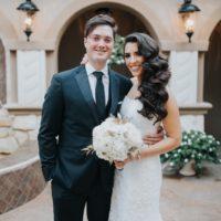 Lauren Sanders Weds Craig Calloway Romantic Winter Wedding from Weddings by Stardust