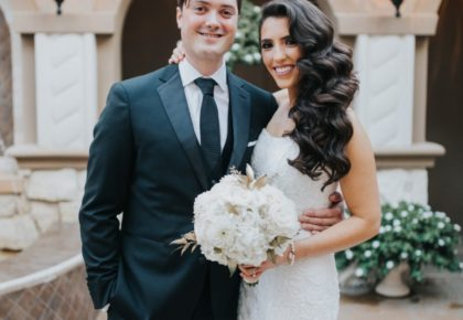 Lauren Sanders Weds Craig Calloway Romantic Winter Wedding from Weddings by Stardust