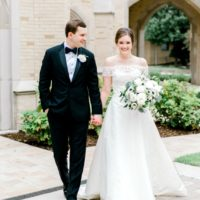 Ellen Pouttu Weds Peter Stavinoha Classic Navy + White Wedding from MK Event Boutique