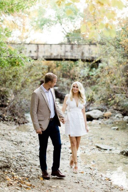 natural romance engagement session from nate and grace photography