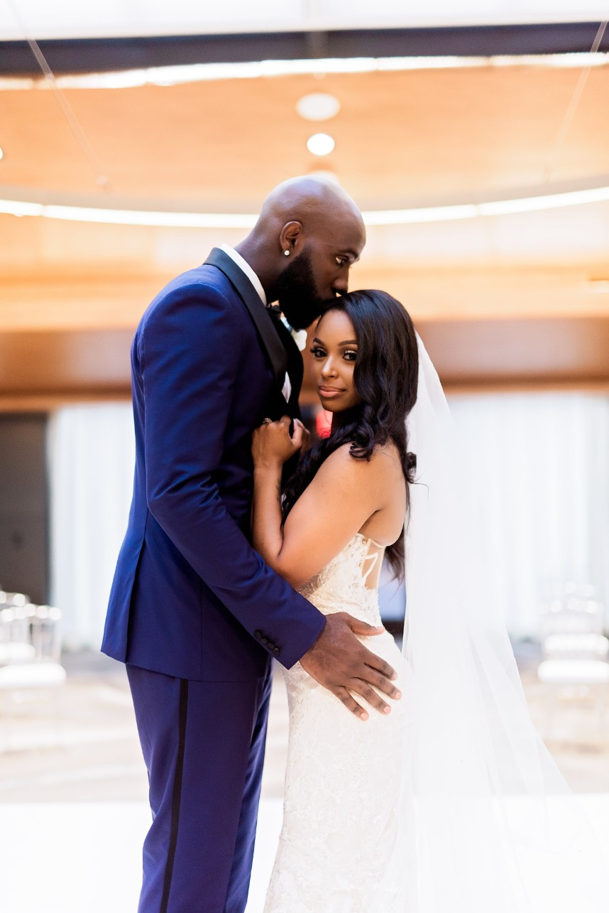 Jessica Fuentes Weds Quincy Acy Glam Modern Wedding from Keestone Events