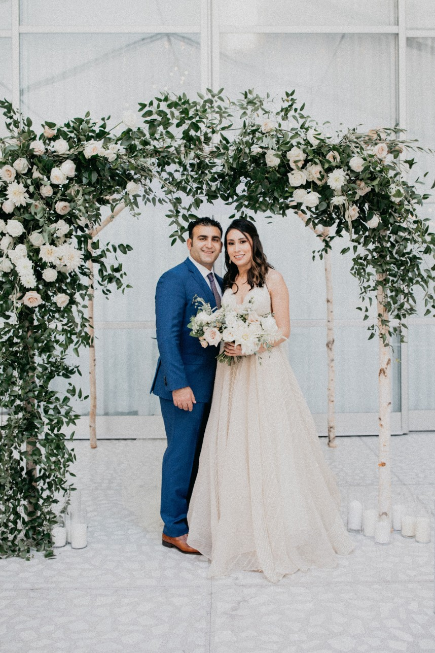 Lulu Sifuentes Weds Tal Avneri Natural White Wedding at The Joule from Maxwell + Gray