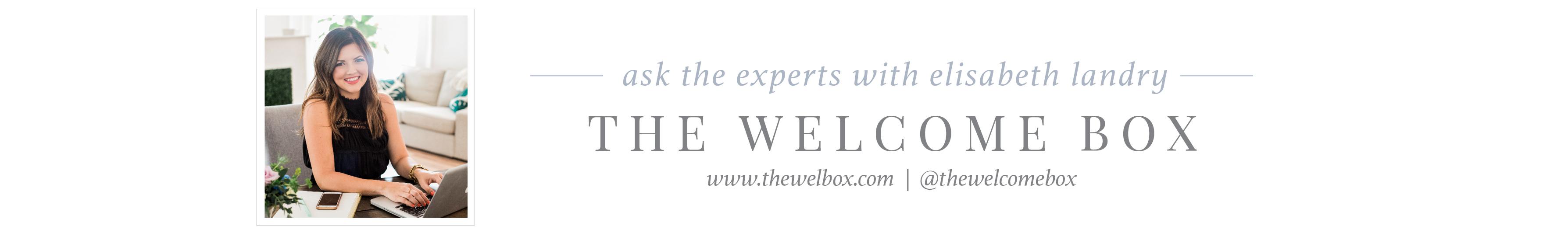 the welcome box wedding gift