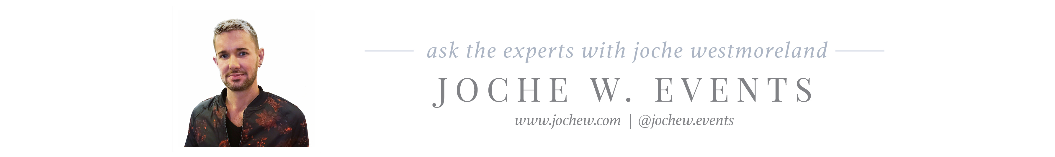 joche w events wedding planner florist
