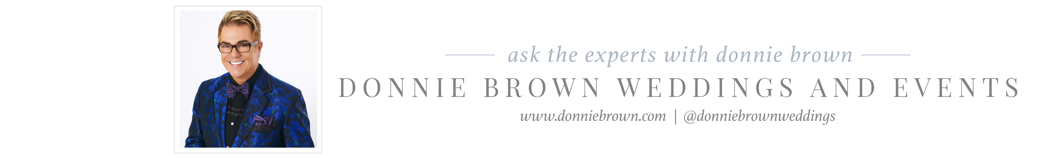 donnie brown wedding planner