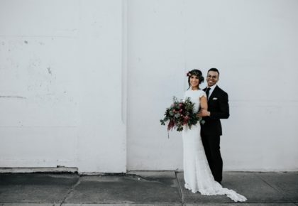Paige Heard Weds Michael Delgado Modern Industrial DFW Wedding from Laning Photography