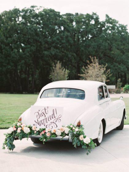 blue diamond limousines of texas vintage white car