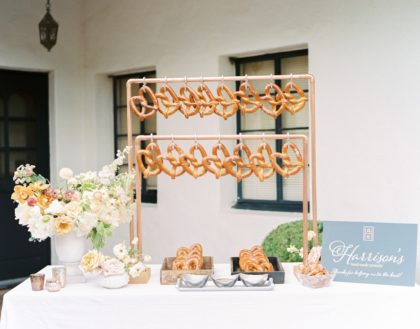 soft pretzel bar