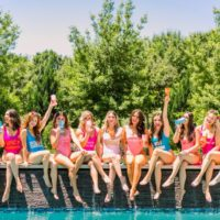 girls just wanna have sun bachelorette party inspiration