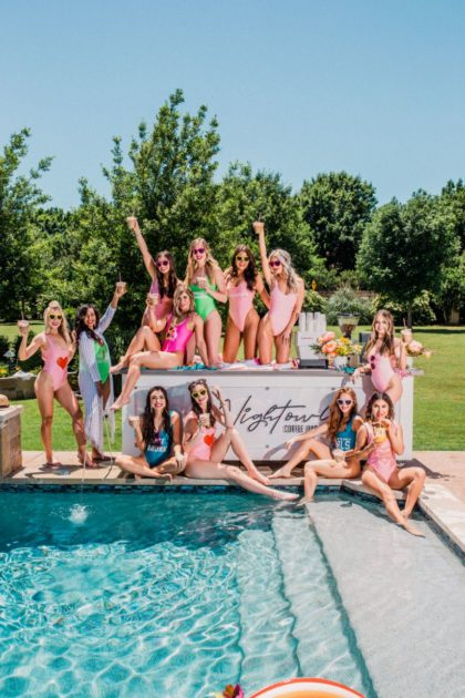 girls just wanna have sun bachelorette party ideas