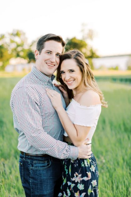 white rock lake engagement session by the lockharts