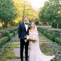 Devon Eggleston Weds Kenny Ferguson Dreamy Arboretum Wedding from Keestone Events