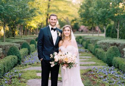 Devon Eggleston Weds Kenny Ferguson Dreamy Arboretum Wedding from Keestone Events