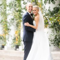 Mindy Stanton Weds Grant Busch Light Blue + Citrus Inspired Texas Wedding