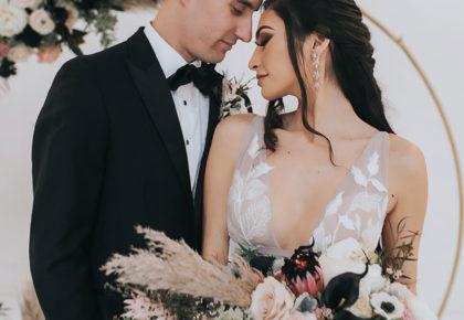 Ilana Arenberg Weds Caleb Larson Boho Minimalist Texas Wedding