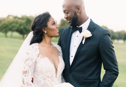 Dominique Riffe Weds Curtis Watson Glam Romantic Dallas Wedding