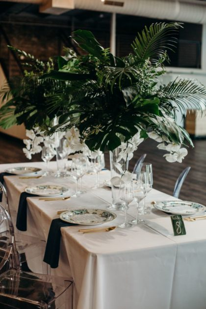 tropical boho inspiration from the big fake wedding