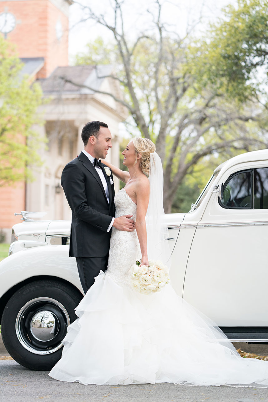 Brittany Barbeau Weds Tommy Pasisis Glam White Wedding at The Fort Worth Club