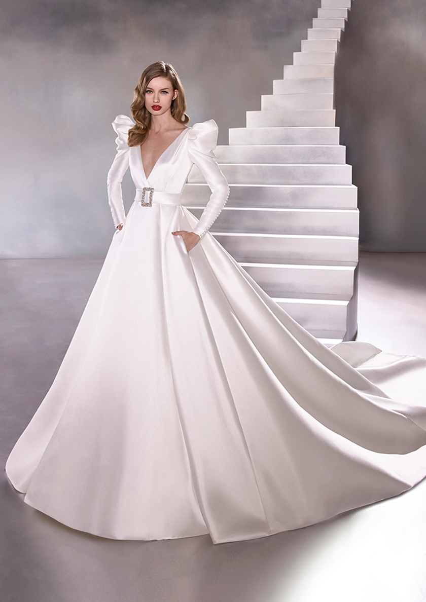 Top Three Trends From Fall Winter 2020 Bridal Fashion Week