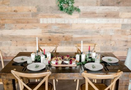 rustic holiday wedding inspo from lyons events