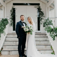 Modern Brunch Wedding at the Cutest Texas Chapel