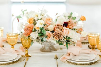 beautiful mustard tones transitional wedding ideas
