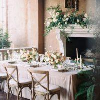 tuscany meets texas wedding decor