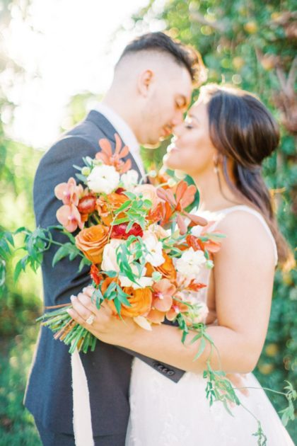 Fruity Wedding Inspo North Texas Wedding Hair Makeup Artist Baleigh Kerr Hair and Makeup