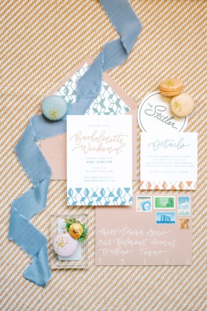 Bethany's Letter Shop invitation